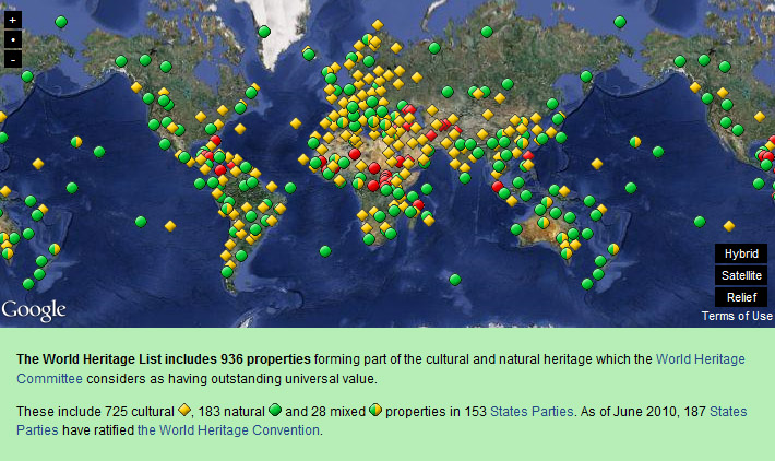 Unesco world heritage sites france map unesco world heritage sites gumiabroncs Image collections