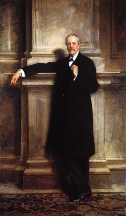 John Singer Sargent - Arthur James Balfor