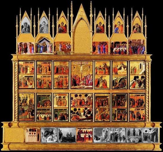 Duccio Maesta back