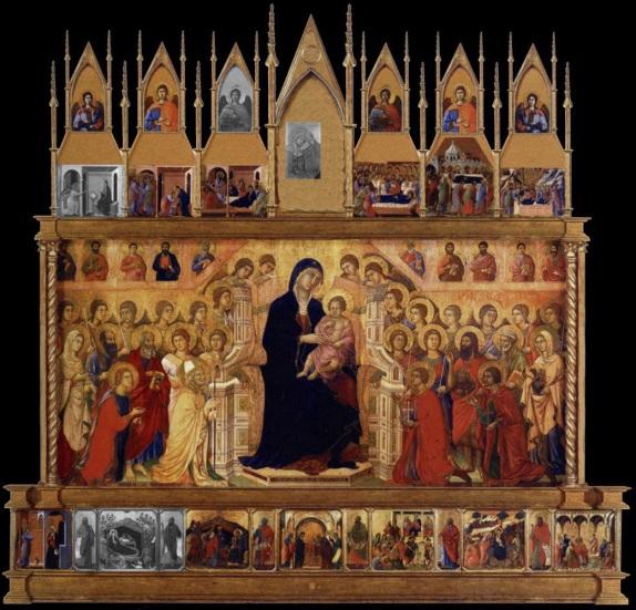 Duccio Maesta front panel