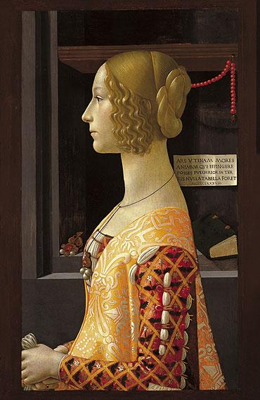 Domenico Ghirlandaio - Portrait of Giovanna Tornabuoni