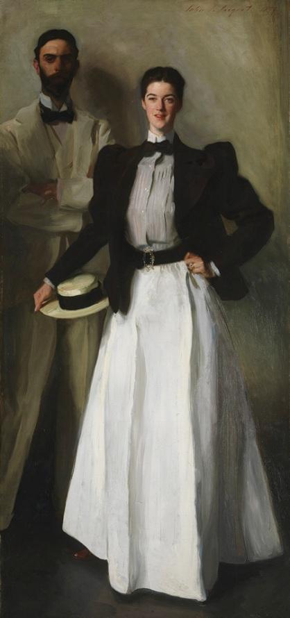 """John Singer Sargent """"Mr. and Mrs. I. N. Phelps Stokes"""""""
