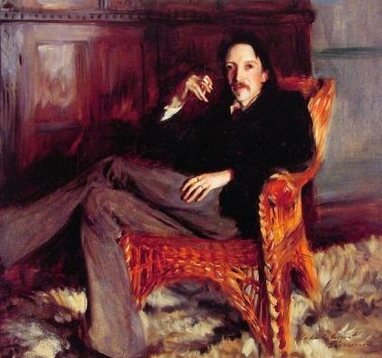 John Singer Sargent - Robert Louis Stevenson