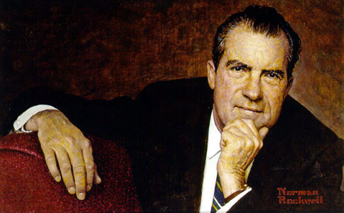 Normal Rockwell - Richard Nixon