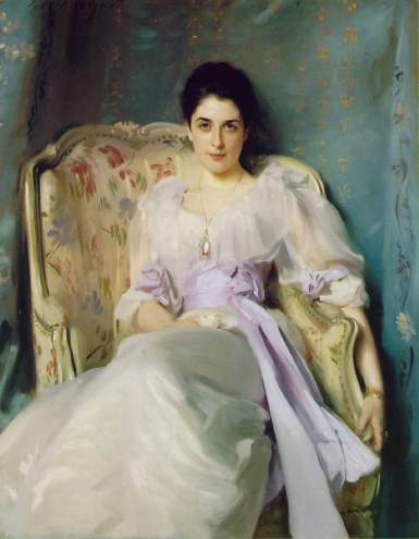 "John Singer Sargent ""Lady Agnew of Lochnaw"""