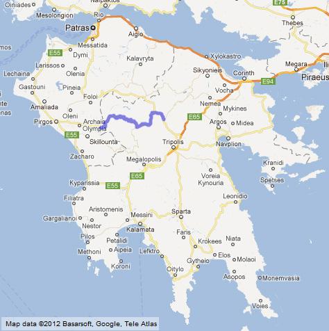 Best road in Greece