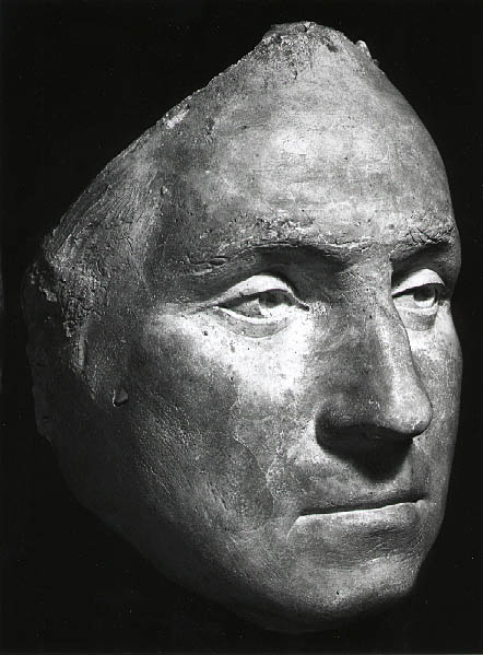 Jean Antoine Houdon - George Washington mask