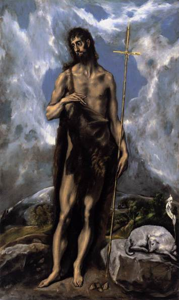 John the Baptist - El Greco
