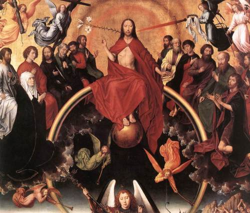 """The Last Judgement Triptych"" by Hans Memling"