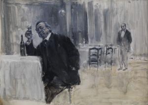 Friedrich Wahle, Der Weinkenner (The Wine Connoisseur)