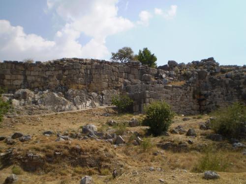 Mycenae wall