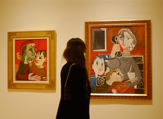 PICASSO and FRANÇOISE GILOT (Paris-Vallauris, 1943-1953) Exhibition