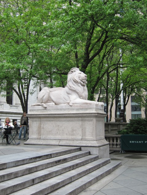NewYork City Public Library Lion