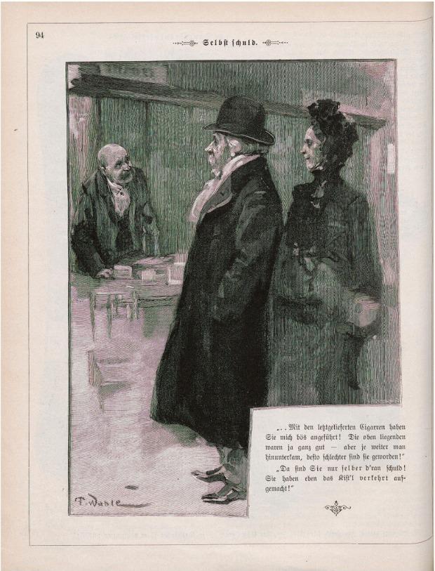 Friedrich Wahle - Fliegende Blatter 1900, 2840-2865, p94 Full page