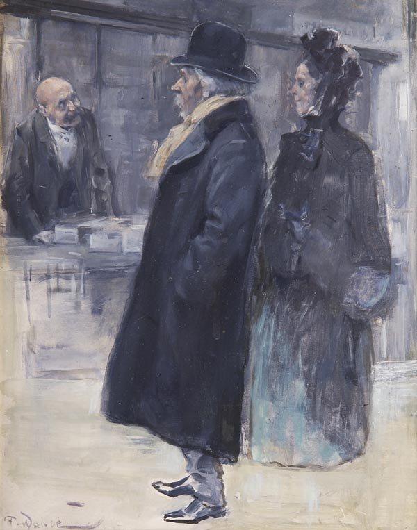 """Friedrich Wahle - """"Beim Einkauf (When Shopping)"""""""