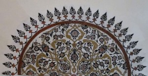 black ceiling element, Süleymaniye Mosque, Istanbul