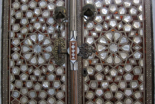 inlaid cabinet, Topkapi Palace, Istanbul