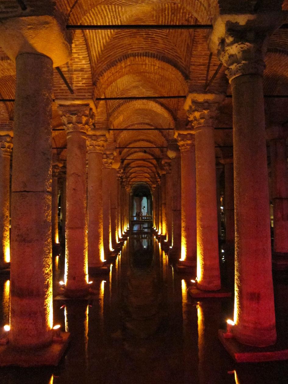 Basilica Cistern Istanbul Daydream Tourist