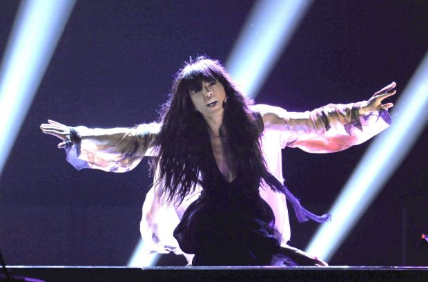 Loreen at Eurovision 2012 representing Sweden
