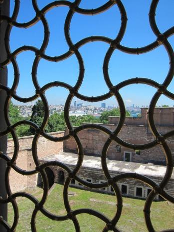 Topkapi Palace window, Istanbul