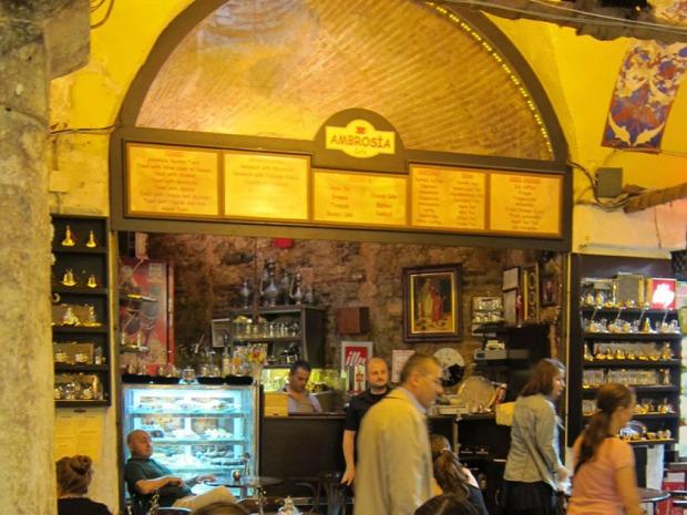 Ambrosia Cafe, Grand Bazaar, Istanbul