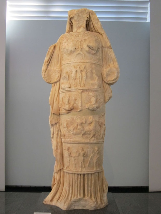 Aphrodite cult image - Aphrodisias, Turkey