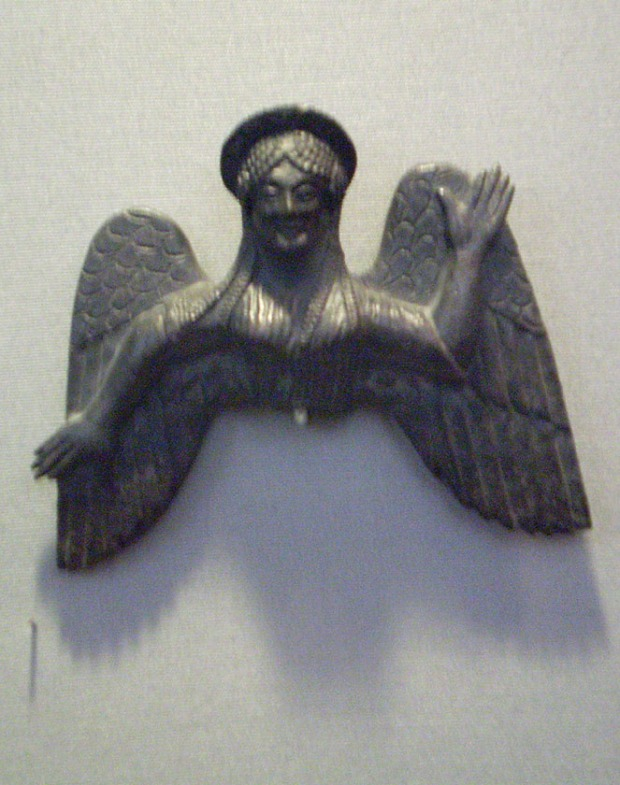 bronze Nike from Athen Archaeological Museum