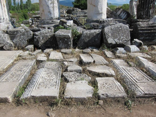 Byzantine church ruins - Aphrodisias, Turkey