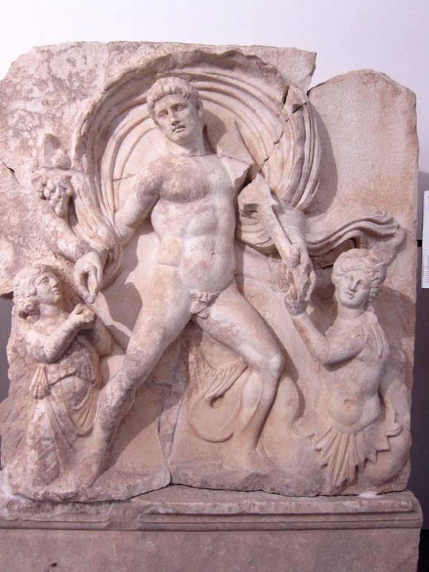 Claudius sculpture - Aphrodisias, Turkey