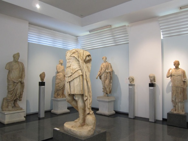 Hall of Emperors, Aphrodisias Museum