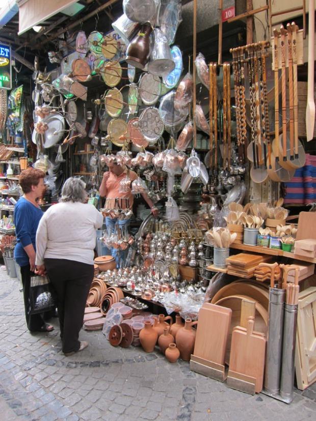 kitchen shop, Spice Market, Istanbul