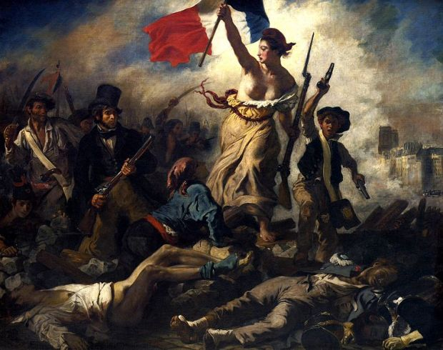 La liberté guidant le peuple (Liberty Leading the People) - Eugène Delacroix