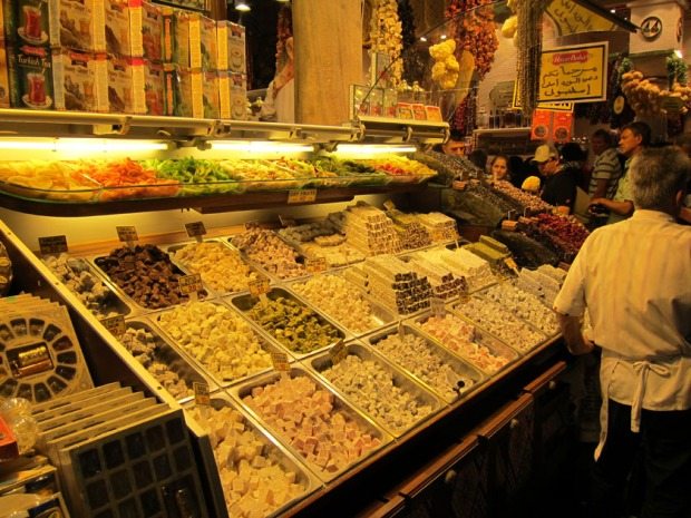 Turkish Delight Shop, Spice Market Istanbul