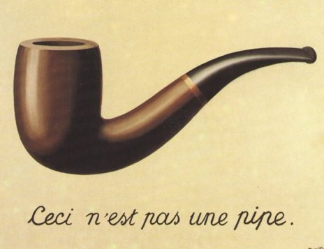 "Rene Magritte ""Ceci n'est pas une pipe"""