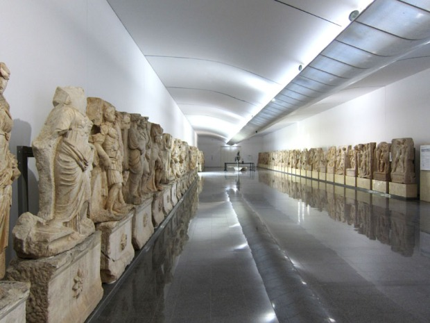 museum hall - Aphrodisias, Turkey