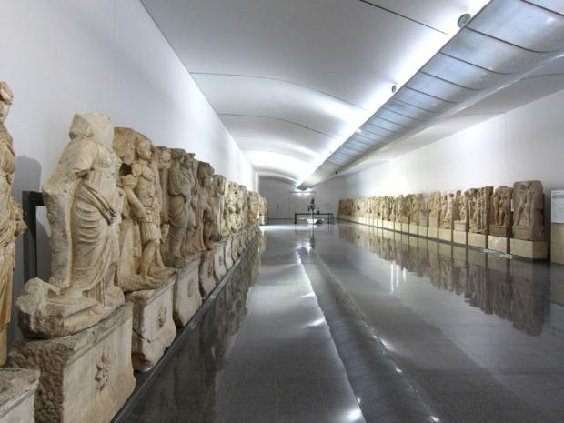 museum hall - Aphrodisias, Turkey