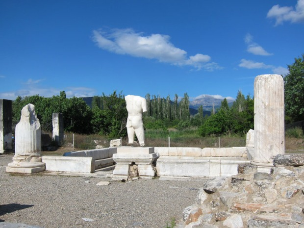 Pool in Hadrian's Bath - Aphrodisias, Turkey