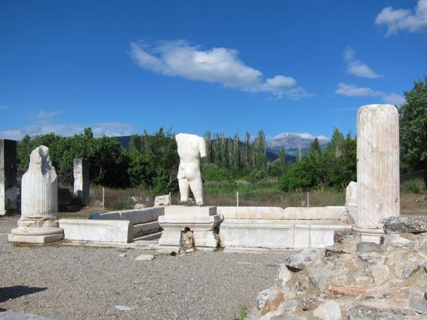 Pool in Hadrian's Bath - Aphrodisias, Turkey