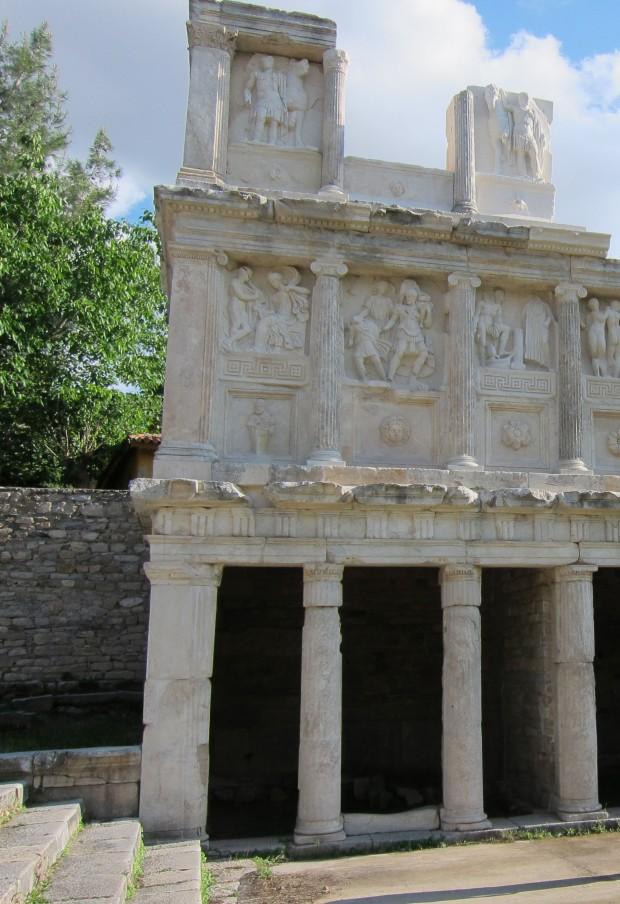 Detail of Sebasteion - Aphrodisias, Turkey