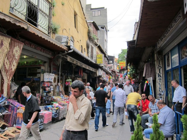 Spice Market shopping area, Istanbul