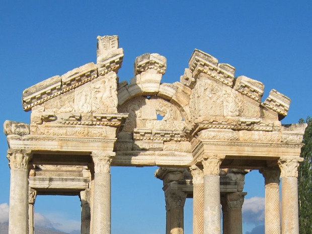 Tetrapylon detail - Aphrodisias, Turkey