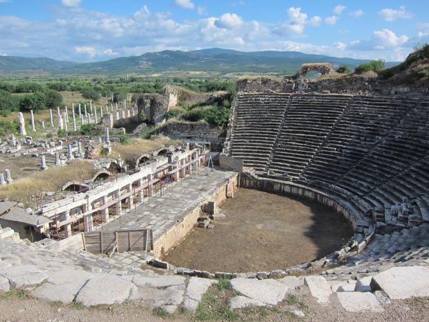 Theater - Aphrodisias, Turkey