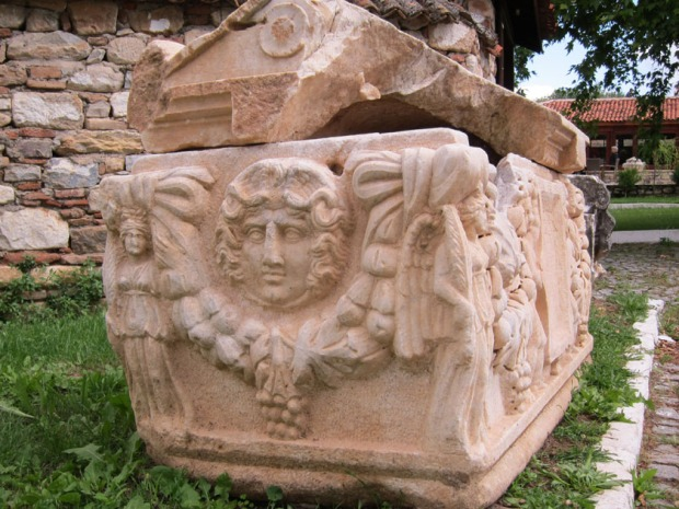 Tomb - Aphrodisias, Turkey