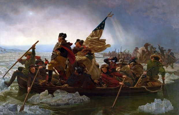 Washington Crossing the Delaware - Emanuel Leutze