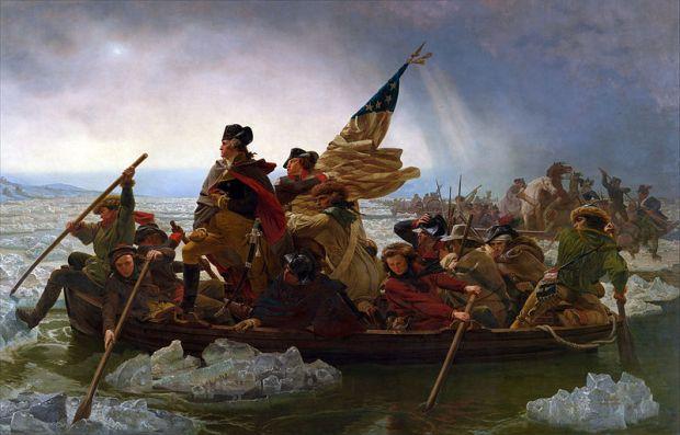 Washington Crossing the Delaware - Emanuel Leutze