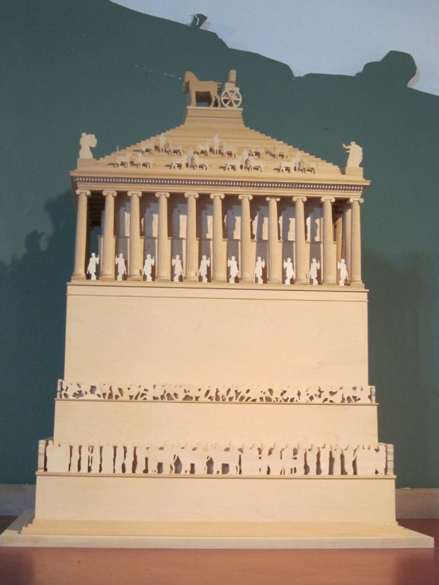 Mausoleum at Halicarnassus model