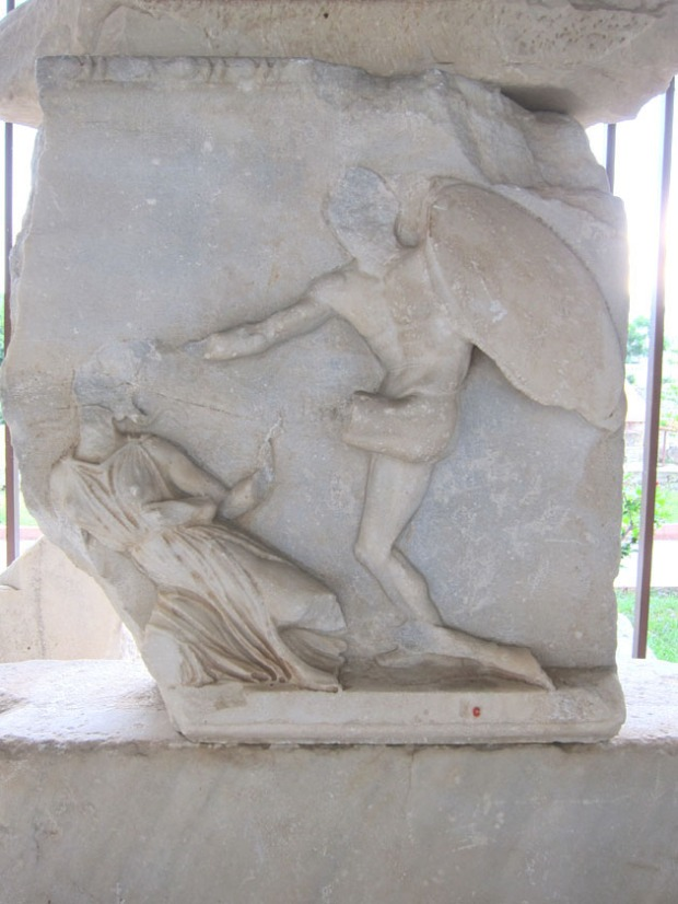 Mausoleum at Halicarnassus frieze