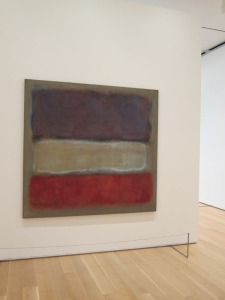 Rothko at Art Institute of Chicago