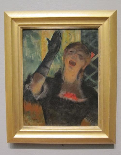 Degas - Opera Singer