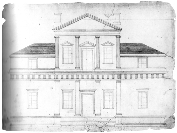 First Monticello design